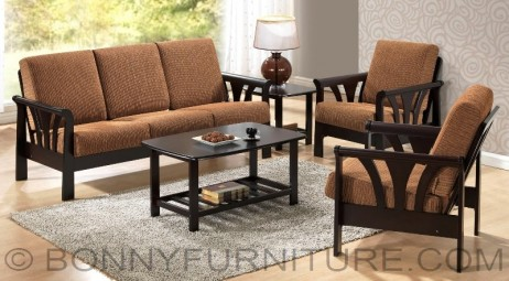 yg 310 sala set 311 with center table and side table