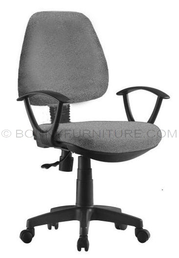 jgy020ga office chair with arm pvc base