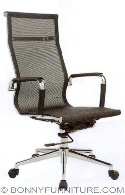 ut-c204hm executive chair chrome starbase