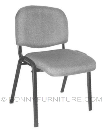 vc1008 visitors chair fabric pvc leather