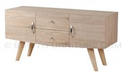 834175 TV Cabinet (White Oak)