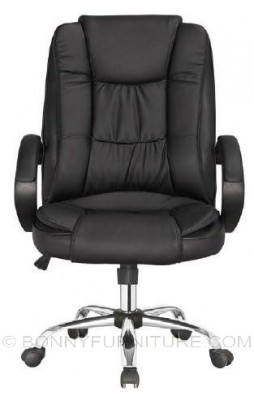 jit-611132 executive chair with arm chrome base leatherette