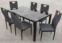 jit-camille dining set 6-seater