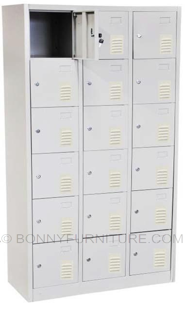 Jit efc18 18 doors locker bonny furniture for 18 door locker