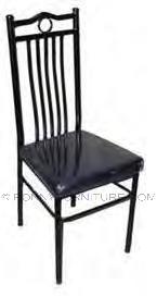 Ness Chair Metal cushion seat