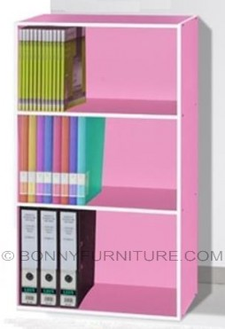 os 3023 book shelf pink