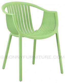 pp-607 plastic chair green
