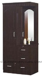 sk-52 wardrobe 2-door with mirror