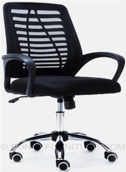sk-u118 office chair front view