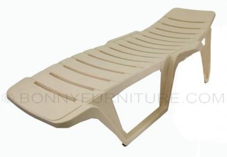 siesta bed marble beige beach chair