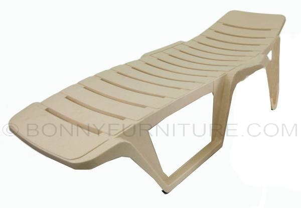 Siesta Bed Marble Beige Beach Chair