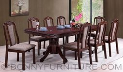 cassie dining set 8-seaters