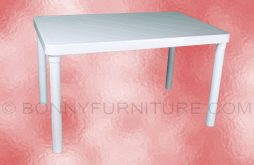 cofta plastic rectangle table