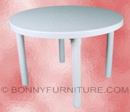 cofta plastic round table