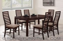 iris dining set 6-seaters