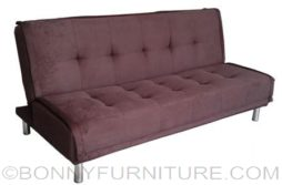 arcadia sofabed dark brown