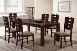saffron dining set 6-seaters