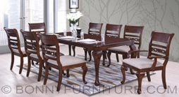 titanium dining set 8-seaters