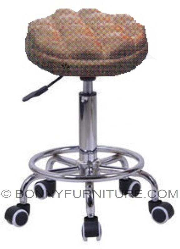 Yy A643 1 Stool With Casters Bonny Furniture
