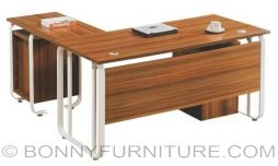 A-27-01 executive table l-shape metal