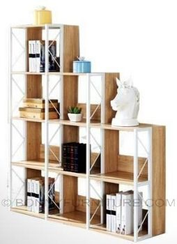 bk-8833 book shelf open display rack