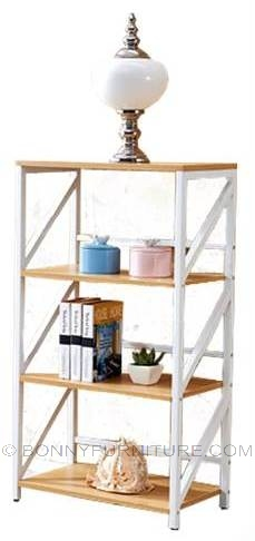 bk-8837 book shelf open display rack
