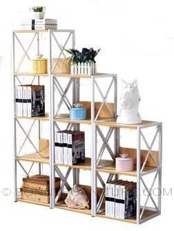 bk-8843 book shelf open display rack