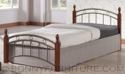 wooden post bed ed208
