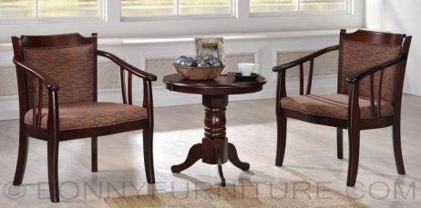 Coffee table hotel 2-seater with table