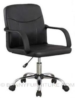 jit-611172 office chair leatherette black