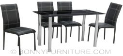 jit-6521 dining set 4-seater