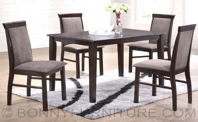 Jit Ashton 4 Seater Dining Set