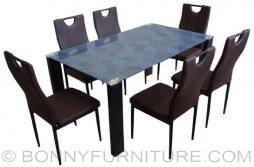 jit-nando 6-seater dining set