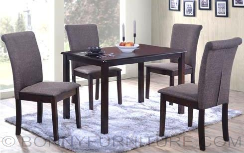 Jit Seth 4 Seater Dining Set