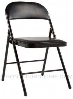folding chair jit-tr503 leatherette black