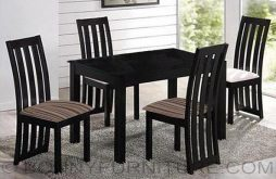 James Dining Set 4-seater