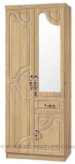 rs-77 2-door wardrobe with mirror