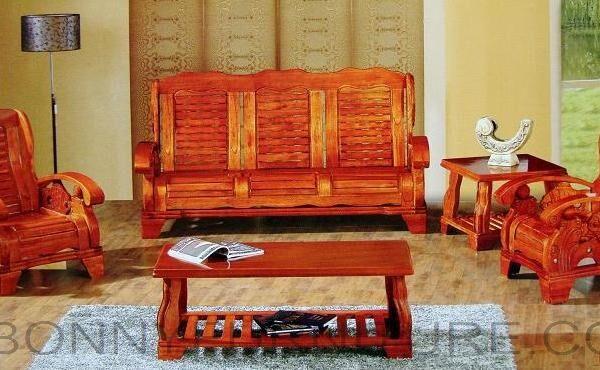 Arowana Flowerhorn Wooden Sala Set 311 Bonny Furniture