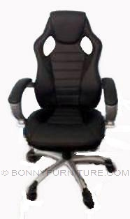 executive chair fy-1729 sports chair black