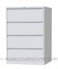 sfc-062-4 lateral filing cabinet 4-layer off-white