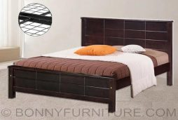 ed2906 wooden bed queen size