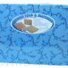 fold-a-mattress thin cotton uratex blue