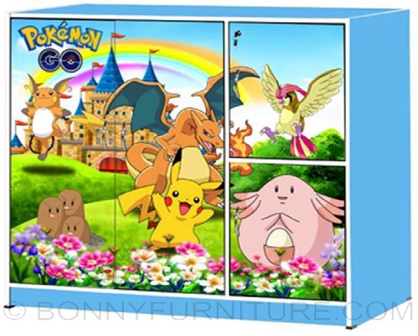 Mk 772 Mk 882 Children Cabinet Pokemon Go Bonny