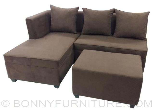 mika mini l shape sofa