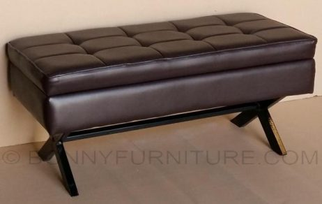 orion metal frame storage bench