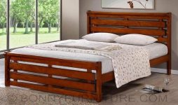 joshua wooden bed 48 60