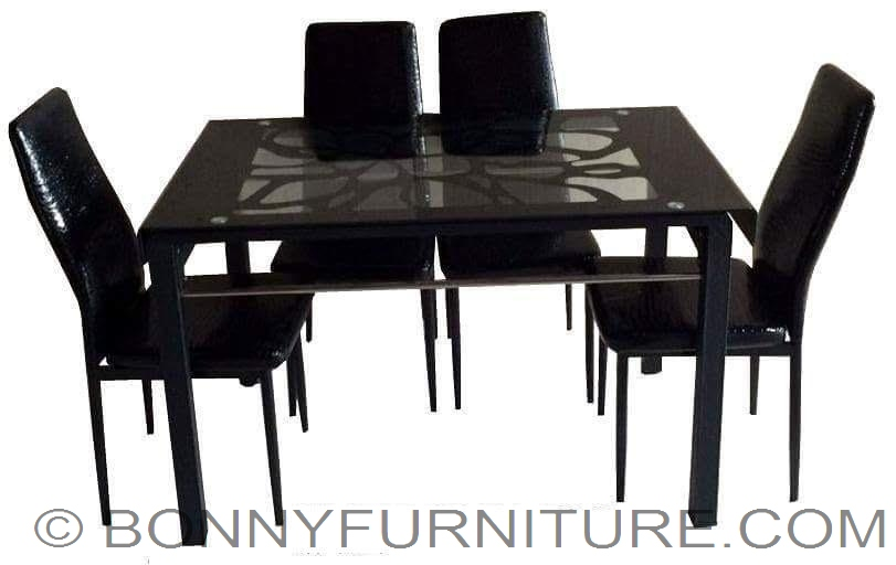 Qy T001 Chair 202 Table Dining Set 4 Seaeter 6 Seater