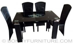 qy-t701 chair 521a dining set 4-seater 6-seater