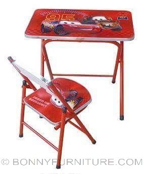 tx-07 study table with chair cars design