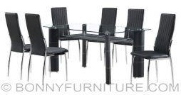uh-ramah dining set 6-seaters